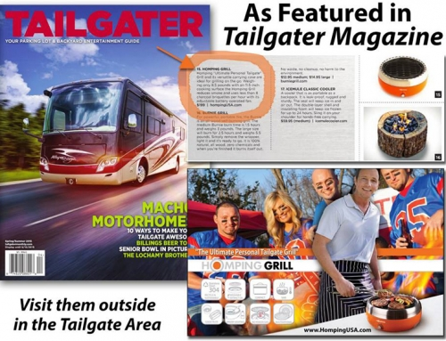 Loved the coverage in Tailgater Magazine!